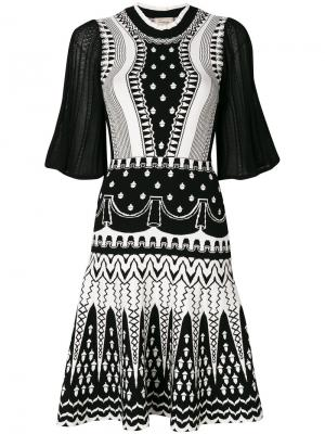 Платье Silvermist Temperley London. Цвет: чёрный