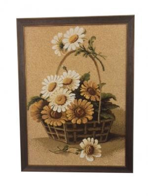 Гобеленовая картина 35х50 см Рапира. Цвет: бежевый, белый, коричневый