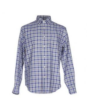 Pубашка FAÇONNABLE. Цвет: светло-серый