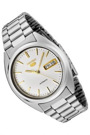 Часы Seiko. Цвет: серый