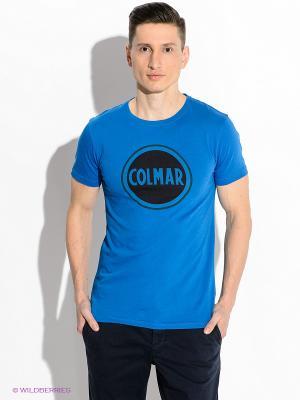 Футболка Colmar. Цвет: синий