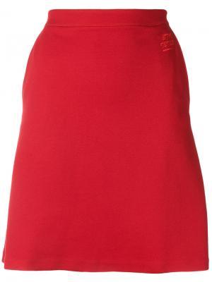 А-образная юбка Être Cécile. Цвет: красный