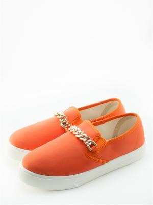 Слипоны Sofirele. Цвет: оранжевый