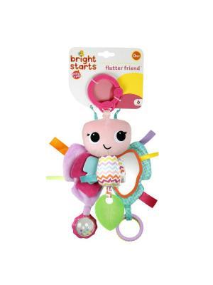 Развивающая игрушка Бабочка BRIGHT STARTS. Цвет: зеленый, розовый