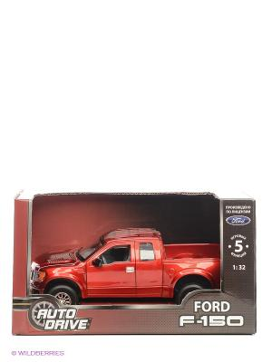 Машинка Форд AUTODRIVE. Цвет: красный