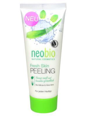Neobio фреш скин средство для пилинга. Цвет: белый