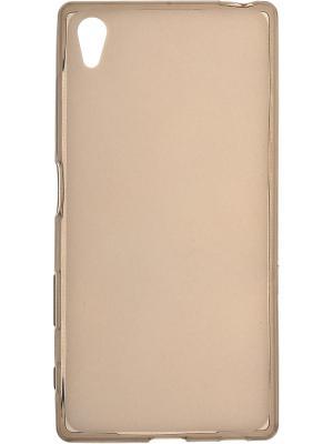 Sony Xperia Z5 silicone skinBOX. Цвет: коричневый