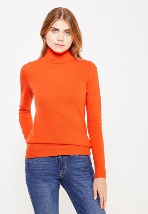 Водолазка United Colors of Benetton. Цвет: оранжевый