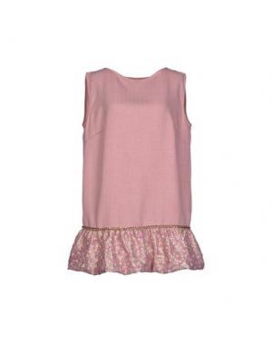 Короткое платье MACRÍ. Цвет: пастельно-розовый