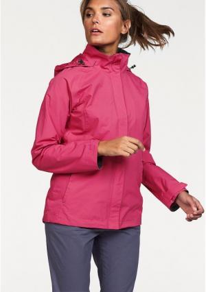 Куртка POLARINO. Цвет: ярко-розовый