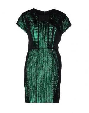 Короткое платье LES PRAIRIES DE PARIS. Цвет: зеленый