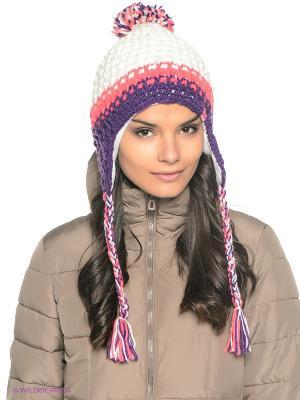 Шапка Ensis. Цвет: белый, фиолетовый, розовый