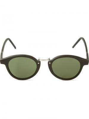 Солнцезащитные очки Frank Kyme. Цвет: чёрный