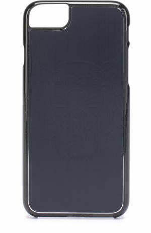 Чехол для iPhone 6S/6 с отделкой металлом Kenzo. Цвет: черный