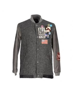Куртка FALORMA. Цвет: серый