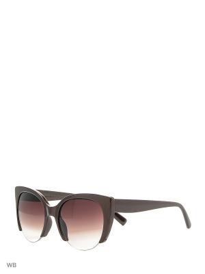 Очки солнцезащитные Vittorio Richi. Цвет: коричневый