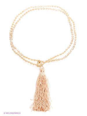 Ожерелье жемчужное Motivi. Цвет: персиковый