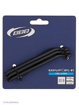 Инструмент BBB tire levers EasyLift. Цвет: черный