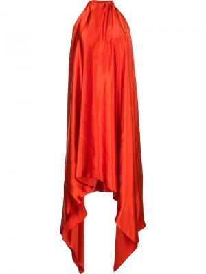 Платье Isabella Bianca Spender. Цвет: жёлтый и оранжевый