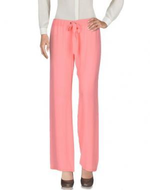 Повседневные брюки NAUGHTY DOG. Цвет: розовый