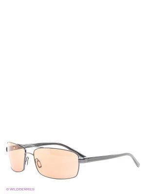 Солнцезащитные очки Serengeti. Цвет: темно-коричневый