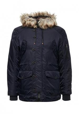 Куртка утепленная MeZaGuz. Цвет: синий