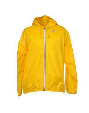 Куртка K-WAY. Цвет: желтый