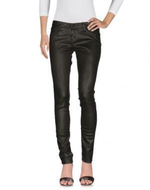 Джинсовые брюки CIMARRON. Цвет: темно-зеленый