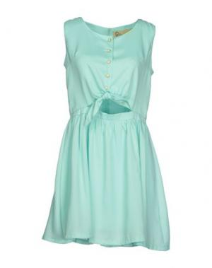 Короткое платье LOVESTRUCK. Цвет: бирюзовый