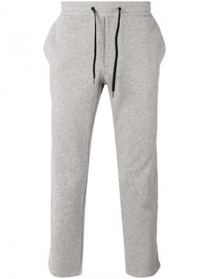 Спортивные штаны с лампасами Marc Jacobs. Цвет: серый