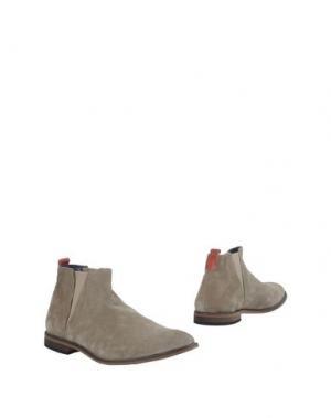 Полусапоги и высокие ботинки CAFèNOIR. Цвет: серый
