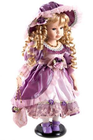 Кукла 41см Русские подарки. Цвет: сиреневый, белый