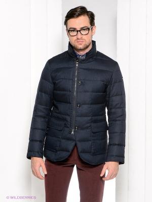 Куртка Henry Cotton's. Цвет: темно-синий