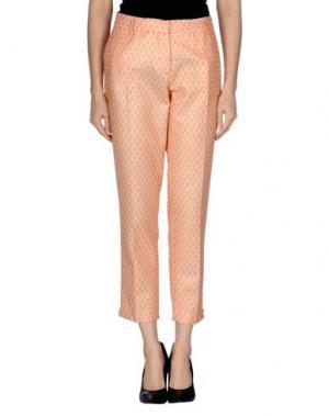 Повседневные брюки TRĒS CHIC S.A.R.T.O.R.I.A.L. Цвет: лососево-розовый