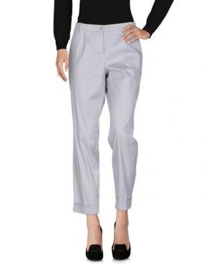 Повседневные брюки WINDSOR.. Цвет: светло-серый