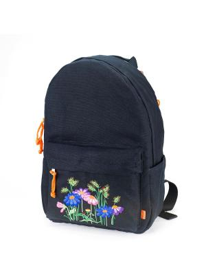 Городской рюкзак TIMBAG. Цвет: черный, красный