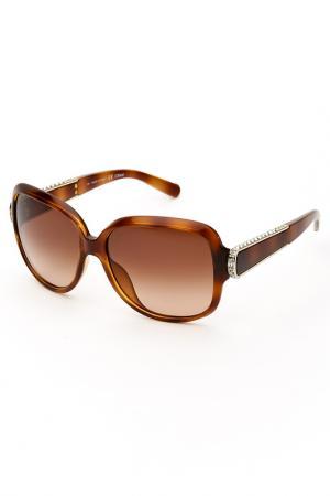 Очки солнцезащитные Chloe. Цвет: коричневый