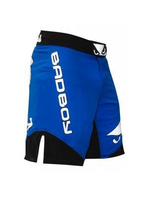 Шорты ММА Bad Boy Legacy II Shorts - Blue/Black. Цвет: черный, синий