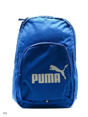 Рюкзак Phase Backpack PUMA. Цвет: голубой