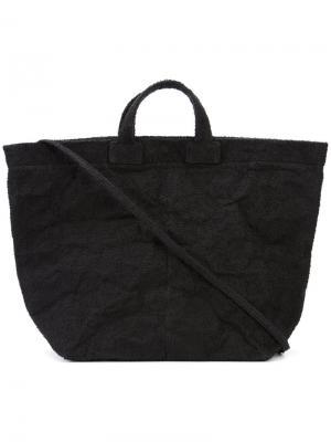 Объемная сумка-шоппер Zilla. Цвет: чёрный