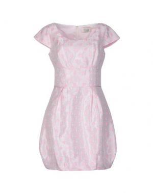Короткое платье MUSANI COUTURE. Цвет: светло-розовый