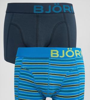 Bjorn Borg Комплект из 2 боксеров-брифов. Цвет: темно-синий