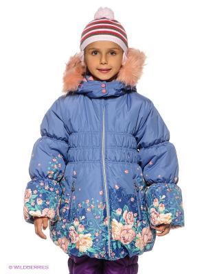 Пальто Baby Club. Цвет: синий, бирюзовый, розовый