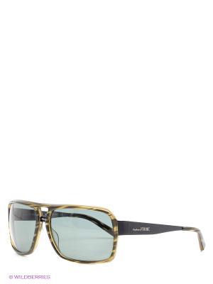 Солнцезащитные очки GF 960 04 Gianfranco Ferre. Цвет: зеленый, черный