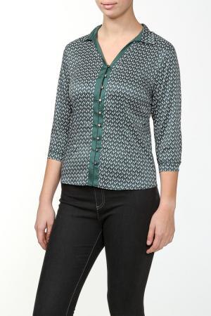 Блузка Tango. Цвет: зеленый