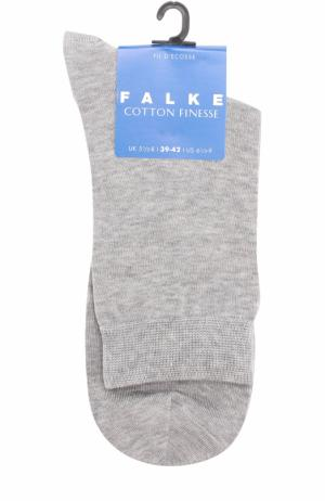 Трикотажные носки Falke. Цвет: светло-серый