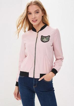 Куртка Fresh Cotton. Цвет: розовый