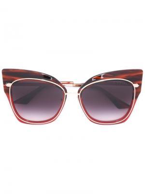 Солнцезащитные очки Stormy Dita Eyewear. Цвет: красный