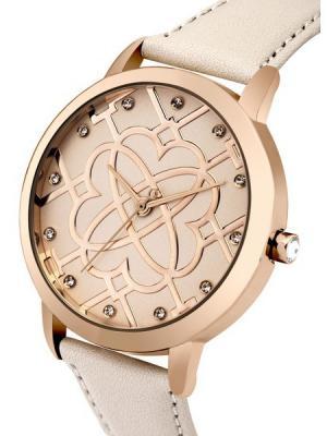 Часы Morgan. Цвет: розовый