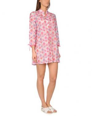 Пляжное платье FLAVIA PADOVAN. Цвет: светло-фиолетовый